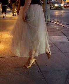 Nude long tulle skirt #pitkä nude tyllihame #you.love.dresses@gmail.com Tulle, Ballet Skirt, Skirts, Dresses, Fashion, Vestidos, Moda, Fashion Styles, Skirt