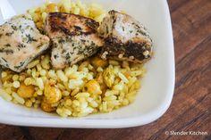 Persian Chicken Kabobs | Slender Kitchen
