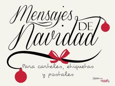 Creative Mindly: Mensajes para tarjetas y postales de navidad Christmas Time, Christmas Cards, Merry Christmas, Xmas, Holiday, Create Your Own Card, Beautiful Lettering, Spanish Lessons, Old Paper