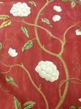 colefax and fowler paris red silk rrp 130m get 57 discount red silk fabric shop and silk