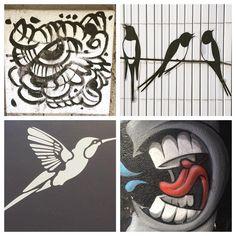 Birds... #picoftheday #bird #birds #streetart #eye #igers #good