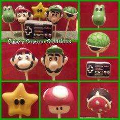 Super Mario Bros. Cake Pops