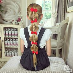 Hair braid idea. Back to school