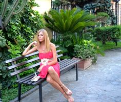 Stephilà Creations - Fashion blogger: Third outfit in Formentera: The nice crossed legs