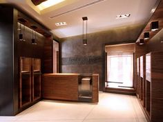 main selling area (interior design, furniture, walnut, bronze)
