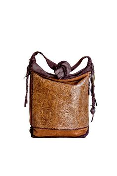 T. Smith Knowles Tooled Floral Bag » Handbags » Santa Fe Dry Goods | Clothing and accessories from designers including Issey Miyake, Rundholz, Yoshi Yoshi, Annette Görtz and Dries Van Noten