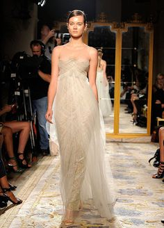 marchesa spring 2012 - love the sheer, almost invisible top of this dress