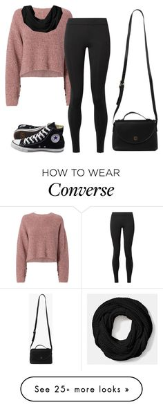 """Untitled #6123"" by hannahmcpherson12 on Polyvore featuring rag & bone, The Row, Azalea, Coach and Converse"