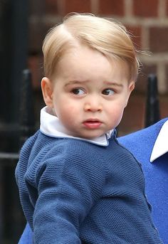 Prince George arrives to meet baby sister - Photo 6 | Celebrity news in hellomagazine.com