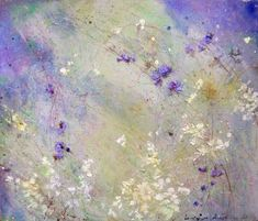 Crocuses 2   From a unique collection of paintings at https://www.1stdibs.com/art/paintings/paintings/