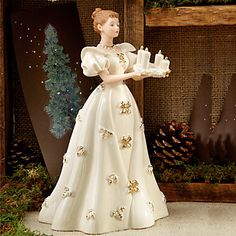 Come Light the Candles, The 2013 Classic Christmas Figurine by Lenox
