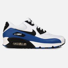 Nike Air Max 90 Essential (White/Black-Military Blue-Neutral Grey)