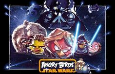 ROVIO has created a new Angry Birds-Star Wars Version of its popular game along with New power-ups, Tournaments ,branded version of Jenga & Plush Toys. Get Your LIGHTSABERS Ready ! Star Wars Wallpaper, Wallpaper Iphone Disney, Hd Wallpaper, Wallpapers, Angry Birds Star Wars, Jouet Star Wars, Star Wars Day, T 4, Kawaii Anime