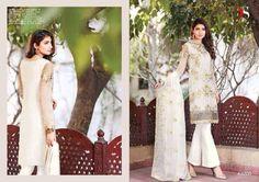 Punjabi Patiala Wedding White Salwar Kameez Bollywood Designer Indian Embroidery #Handmade #SalwarKameez