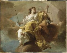 Gaetano GandolfiThe Goddess of Justice