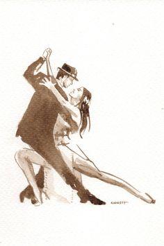 Dancing couple art sexy Ideas for 2019 Tango Art, Love Card, Art Texture, Tango Dancers, Dancing Drawings, Fabian Perez, Unique Drawings, Shall We Dance, Shadow Art