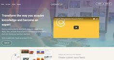Cronycle è il tool che permette di fare content curation gestendo ricerche di contenuto sul web in totale collaborazione con il team