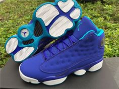 Authentic Air Jordan 13 GS Hornets