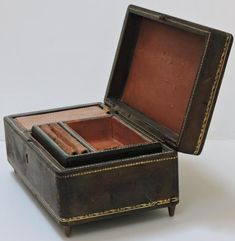 Your place to buy and sell all things handmade Music Boxes, Vintage Music, Leather Cover, Switzerland, Jewelry Box, Birthday Gifts, Vintage Items, Free Shipping, Awesome