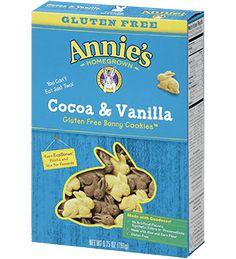 Gluten Free Cocoa & Vanilla Bunny Cookies - Annie's Homegrown