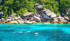 India Travel, Thailand Travel, Formations Rocheuses, Weather In India, Andaman Islands, Thailand Adventure, Backpacking India, Best Snorkeling, Koh Phangan