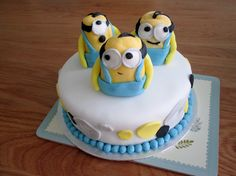 Minion Cake for Amie