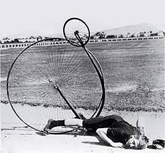 Very unusual vintage photos.did you ever have one of those days when nothing seemed to go right,well take heart at least you didnt have one like her,unless you too are often found drunk in charge of a penny farthing.funny black and white photo