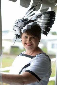 Kim (Bespoke order BY LINDA FORD    #millinery #hats #HatAcademy