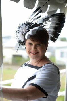 Kim (Bespoke order BY LINDA FORD    #millinery #hats #HatAcademy
