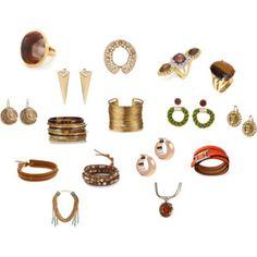 True Autumn jewelry in many Kibbe types.