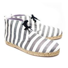 Lille Espadrille Men's Stripe now featured on Fab.