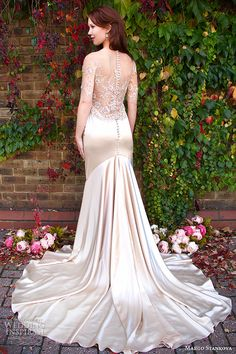 Margo Stankova 2015 #Wedding Dresses — Peony #Bridal Collection | Wedding Inspirasi