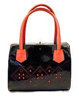 Женская сумка с узором