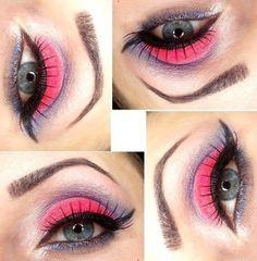 THE FLOWER via #brokat #eyes #eyemakeup #eyeshadow #pretty #beauty