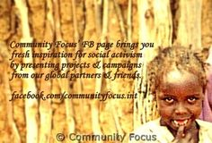 Community Focus  for inspiring news and updates from human rights projects around the world.  Like us on Facebook: facebook.com/communityfocus.int Human Rights Quotes, Social Activities, Fb Page, Art Quotes, Bring It On, Community, Facebook, News, Projects
