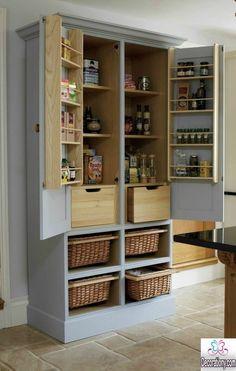 standing kitchen pantry
