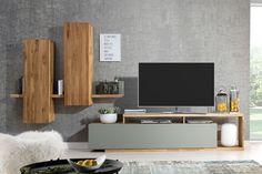 Tv Unit Furniture, Living Room Furniture, Tv Stand Bookshelf, Tv Feature Wall, Tv Unit Decor, Living Room Tv Unit Designs, Tv Wall Design, Cheap Home Decor, Decoration