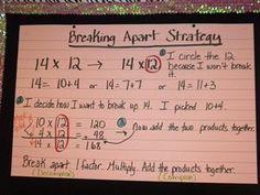 math worksheet : breaking apart chart  math ideas  pinterest  charts : Break Apart Multiplication Worksheets