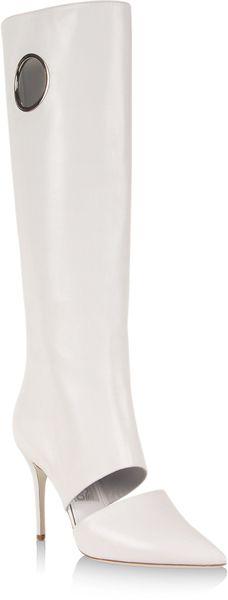 Ferragamo White Boot | Boots, White