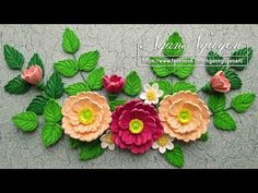 Quilling Poinsettia  Flower Tutorial | cómo hacer la flor poinsettia quilling - YouTube