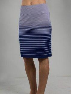 7cd7163b0b7 JoFit Ladies   Plus Size Slip On Lifestyle Skirts - Malbec (Blue Depth)