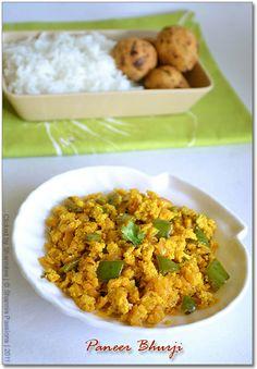 Paneer Bhurji Recipe | Paneer Recipes
