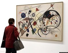 """kandinsky 9 things you didn't know """"Art and music go hand in hand"""""""