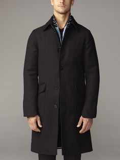 EFM Menswear AW14 Lansdowne Knee Length Coat