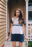 Navy Gold T-Shirt Dress Twilight Collection Summer Suits, Summer Dresses, Gold T Shirts, Gold Skirt, Navy Gold, Twilight, Tights, Delivery, Shirt Dress
