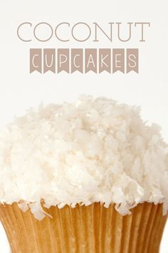 ... Coconut Cupcakes on Pinterest | Chocolate Coconut Cupcakes and Coconut