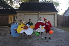 Halloween outfits....Kids will not let me dress them in themes anymore...