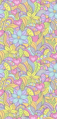 Imagem de wallpaper, flowers, and colors