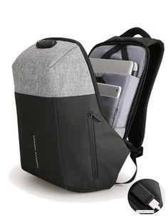 03785b16e835 Mochila Backpack Antirobo Impermeable Usb Powerbank Premium -   1