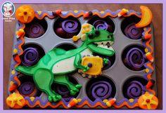 Dinosaur Pancake Food Art